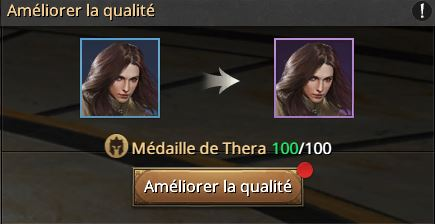 Thera vers le cadre violet