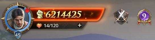 Lord niveau 45 avec 6214425 de prestige