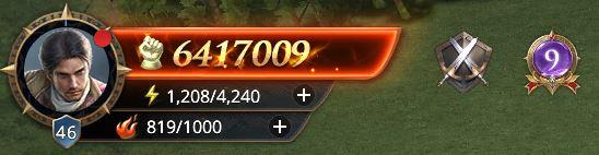 Lord niveau 46 avec 6417009 de prestige