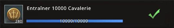 Mission 10000 cavaliers accomplie