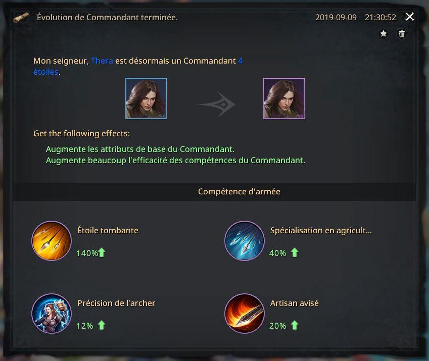 Rapport de promotion de Thera