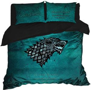 Parure de lit de la maison Stark