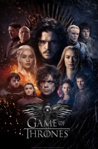 Poster personnages Game of Thrones