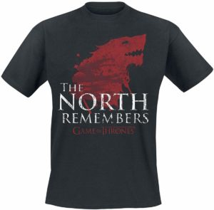 T-shirt devise the North remembers
