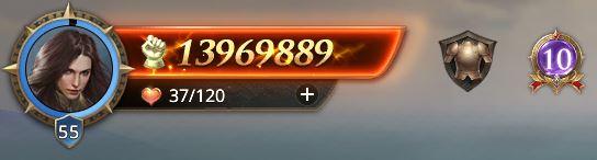 Lord niveau 56 avec 13969889 de prestige