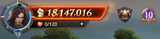 Lord au niveau 56 avec 18147016 points de prestige