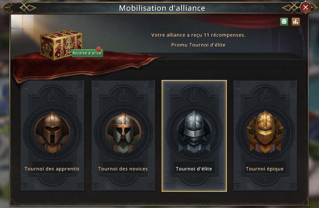 Résultat de la mobilisation d'alliance