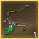 collier d'émeraude