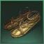chaussures en rotin