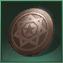emblème en cuivre rouge