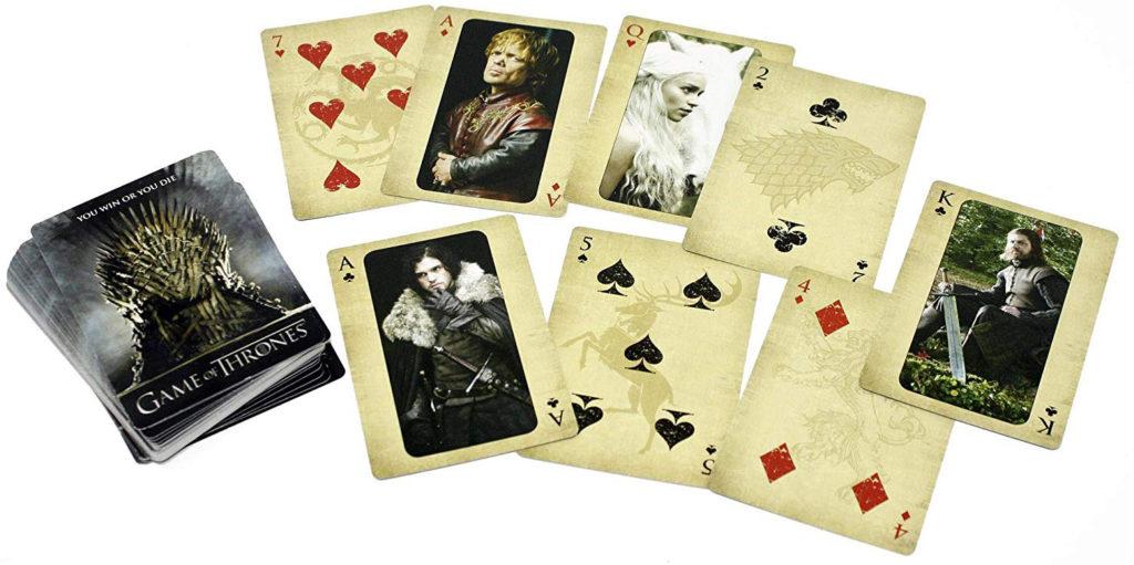 Jeu de 52 cartes Game of Thrones