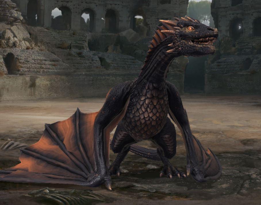 Dragon stade ancien