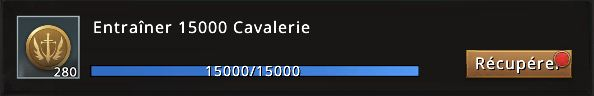 Mission 15000 cavaliers accomplie