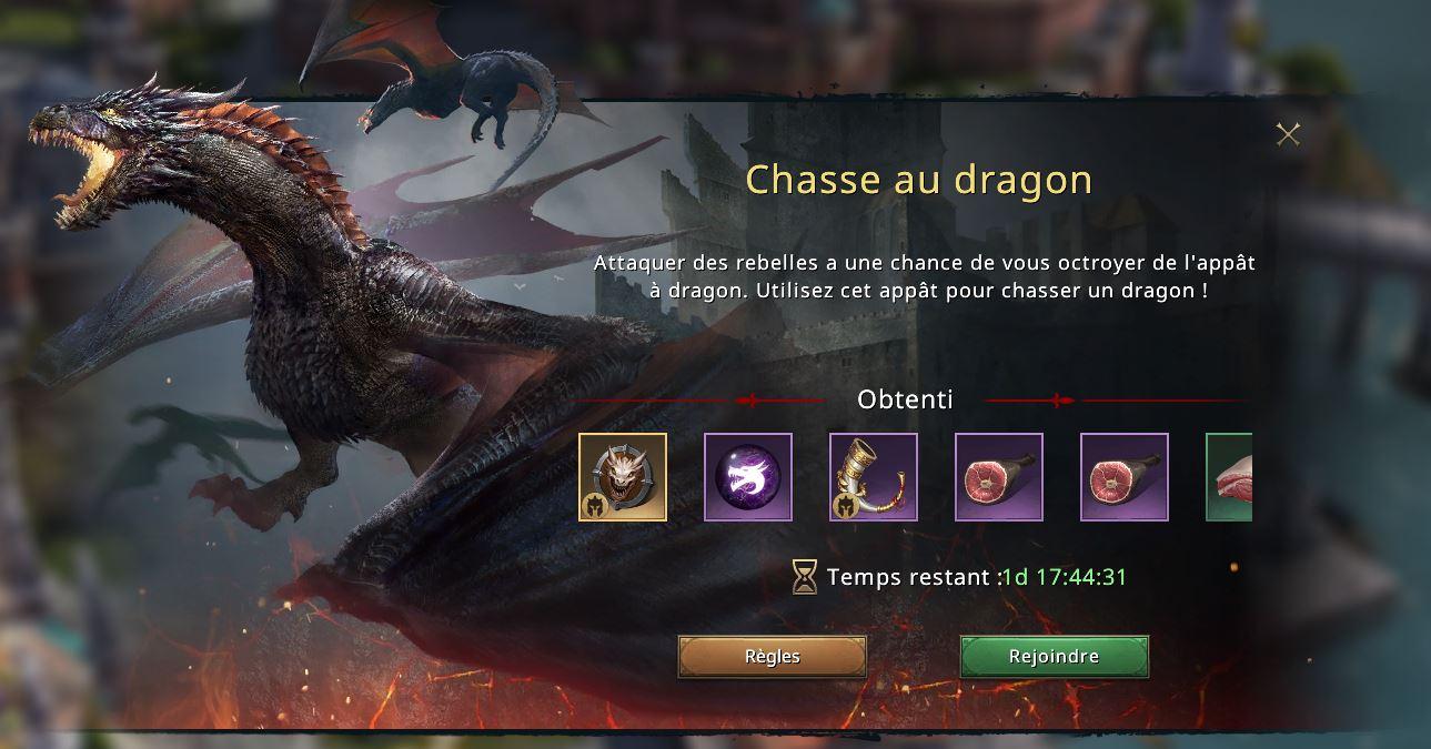 Chasse au dragon