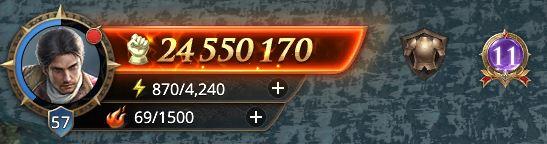 Lord niveau 57 avec 24 550 170 points de prestige