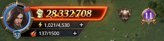 Lord niveau 58 avec 28 332 708 points de prestige