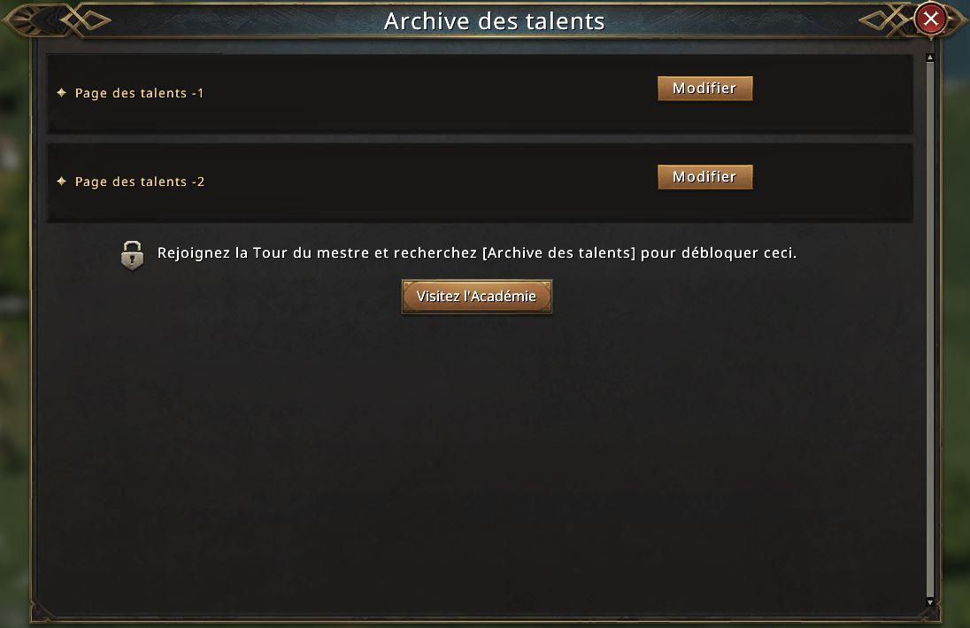 Archive des talents