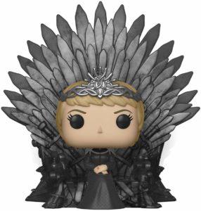 Figurine Cersei sur le trône