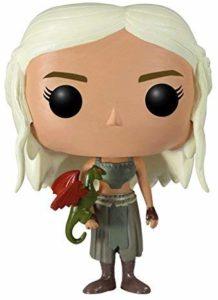 Figurine Daenerys avec bébé dragon