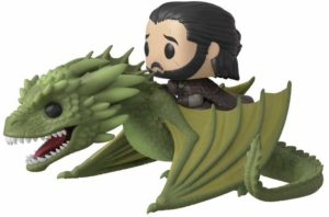 Figurine Jon Snow dragon