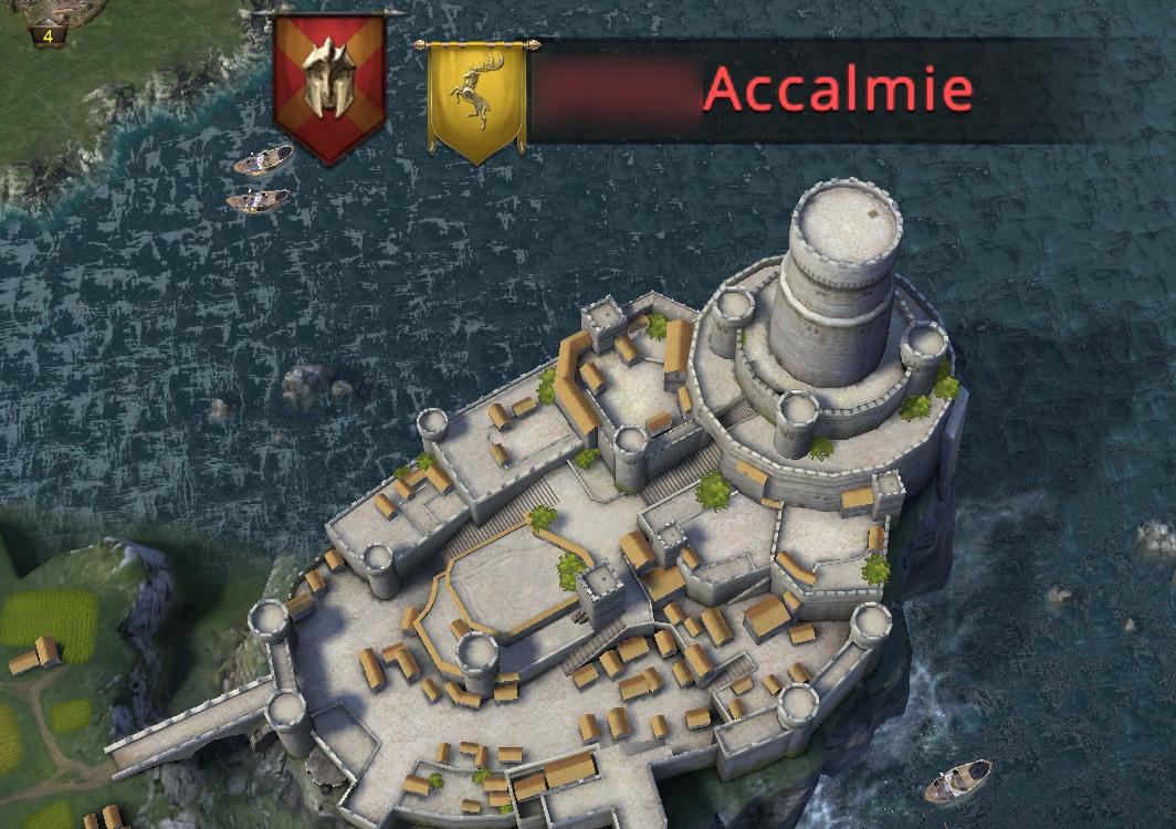 Accalmie occupée par notre alliance