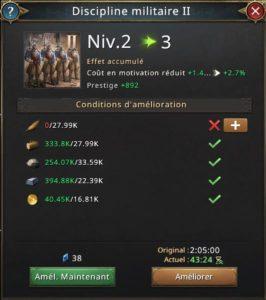 Recherche discipline militaire vers 3