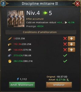Recherche discipline militaire vers 5
