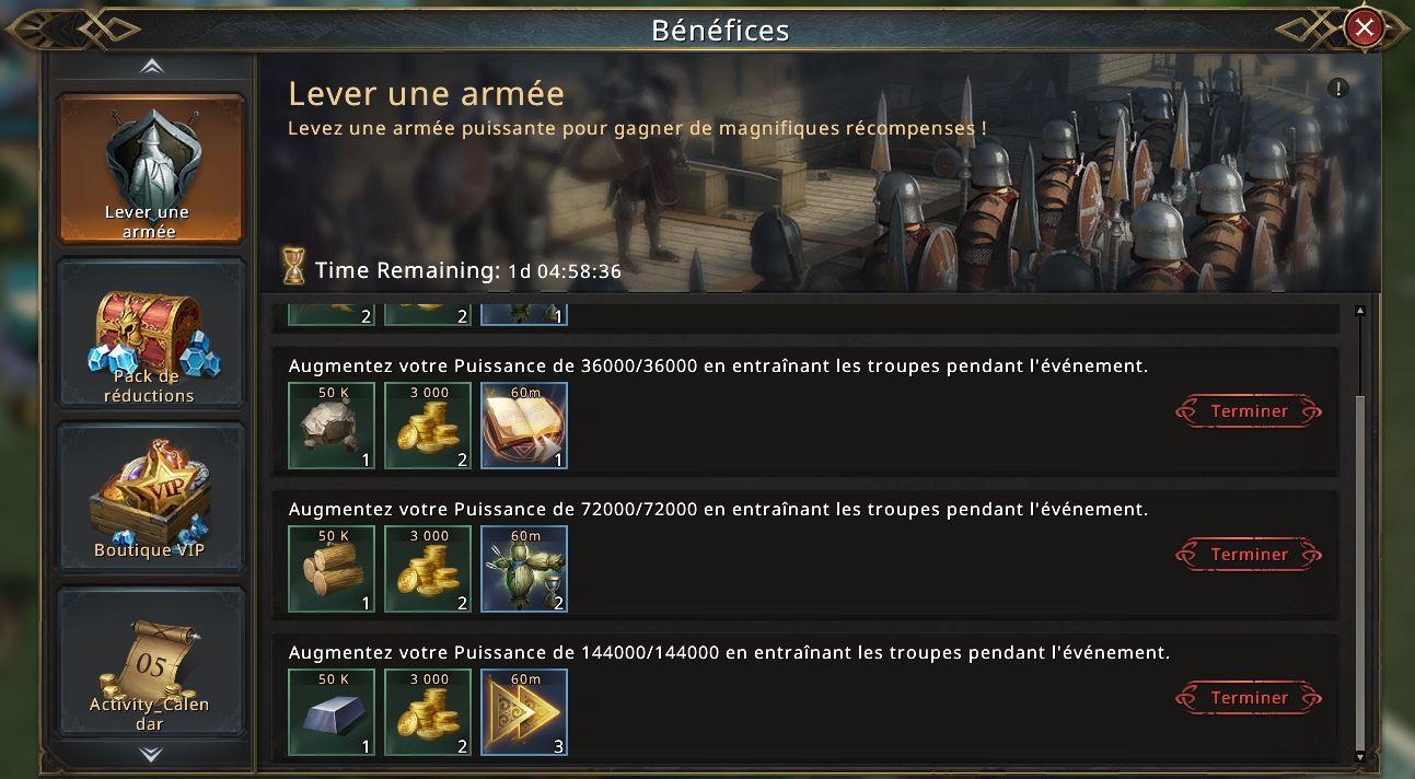 Lever une armée