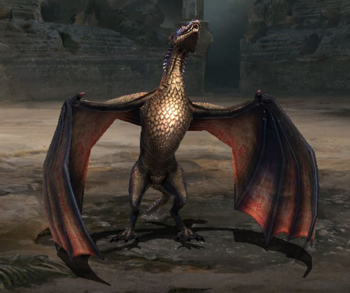 Jeune dragon II