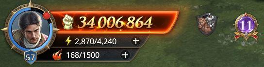 Lord niveau 57 avec 34 006 864 de prestige