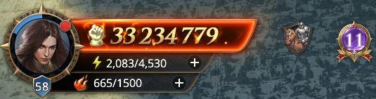 Lord niveau 58 avec 33 234 779 de prestige