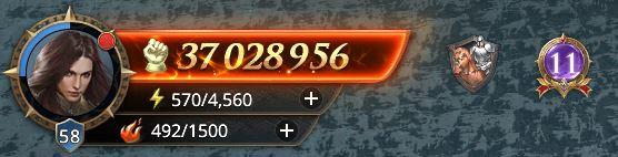 Lord niveau 58 avec 37 028 956 de prestige