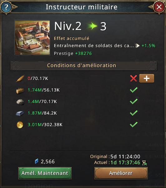 Recherche instructeur militaire vers 3