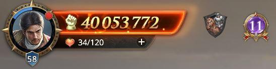 Lord niveau 58 avec 40 053 772 de prestige
