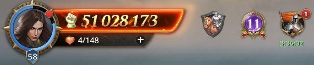 Lord niveau 58 avec 51 028 173