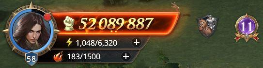 Lord niveau 59 avec 52 089 887 de prestige