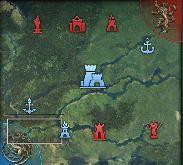 Map de la conquête d'alliance à 15 min