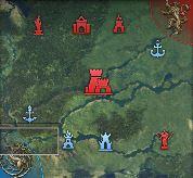 Map de la conquête d'alliance à 45 min