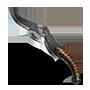 Couteau de chasse brisé