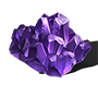 Minerai d'améthyste