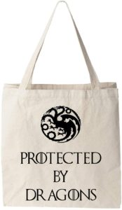 Sac protected by dragons