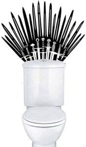 Sticker trône de fer