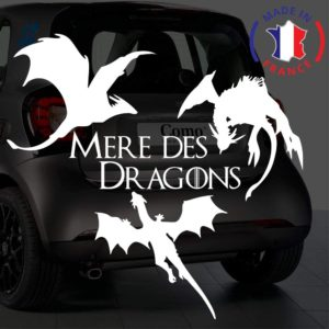 Sticker mère des dragons