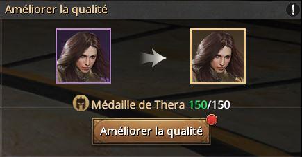150 médailles commandant Thera