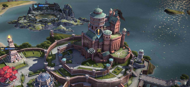 Château niveau de gloire 5
