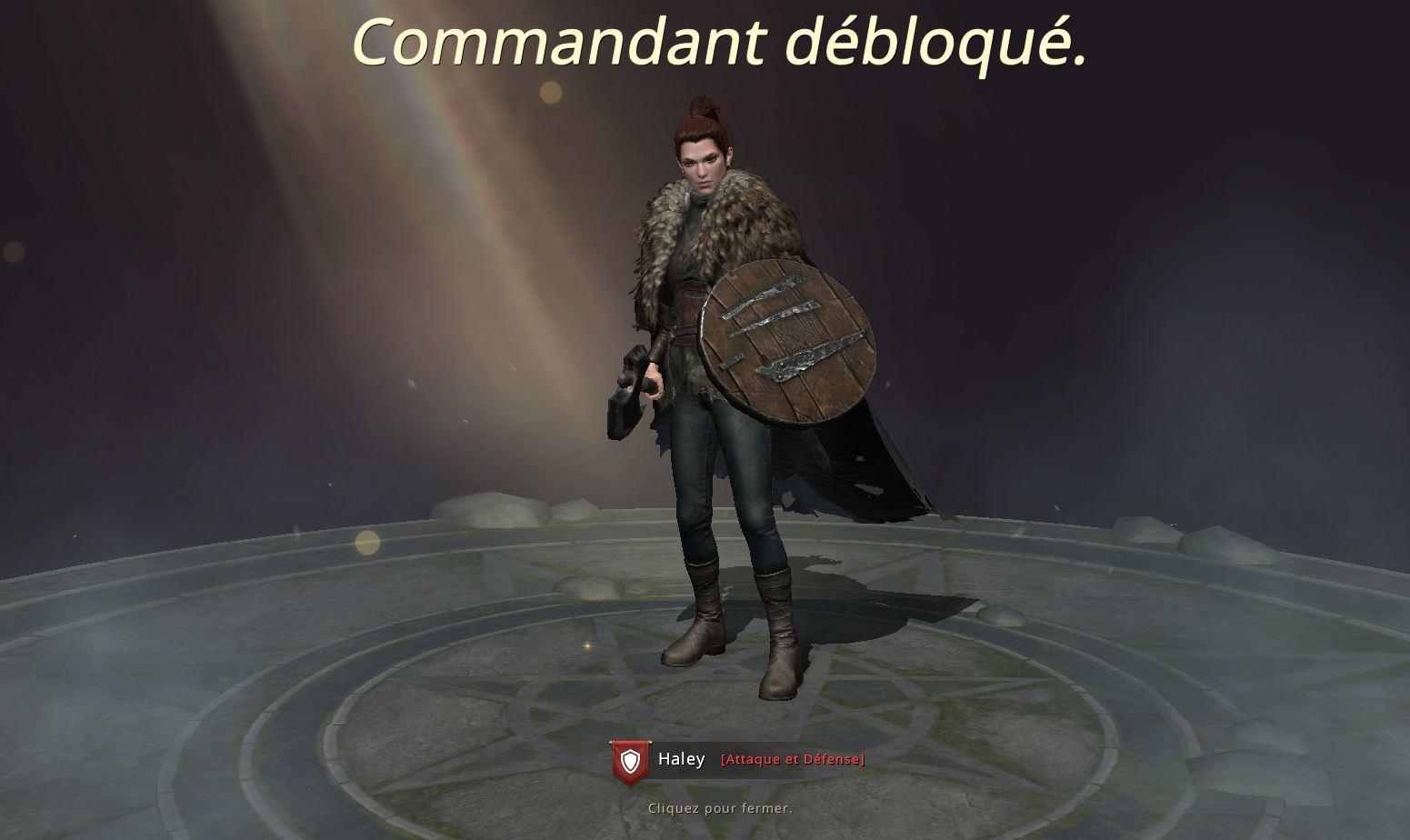 Commandant Haley