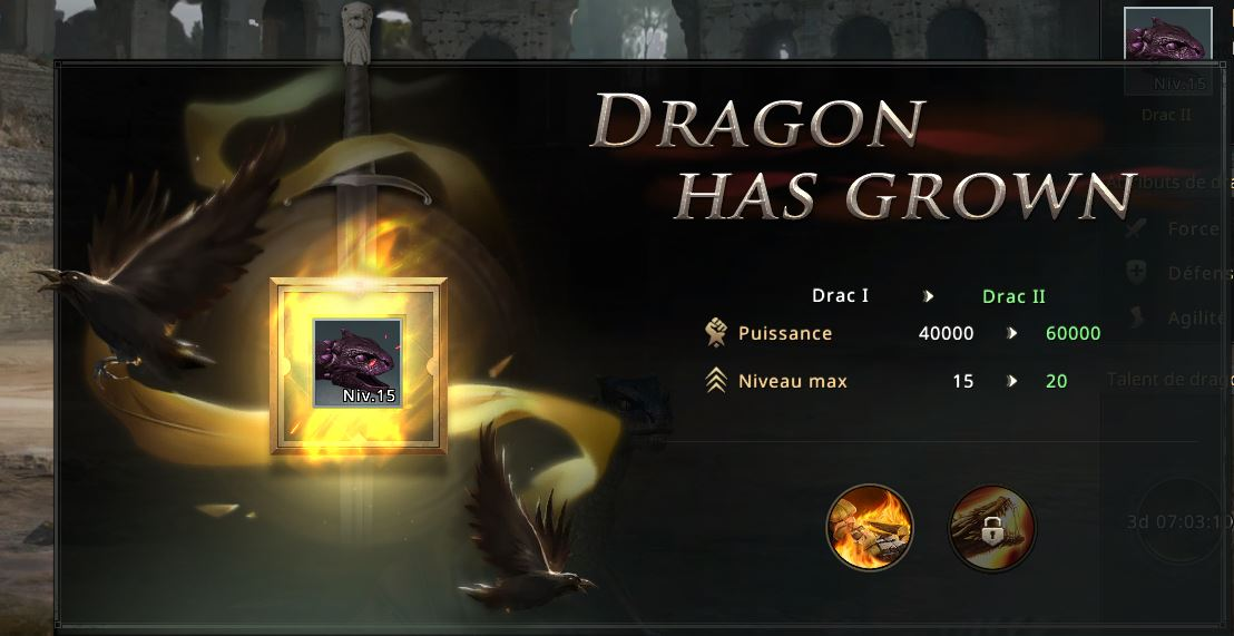 Dragon stade Drac II