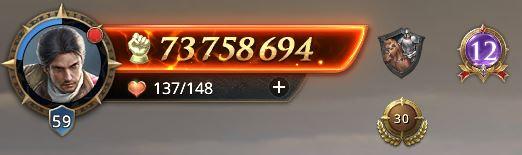 Lord niveau 59 avec 73 758 694 de prestige