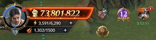Lord niveau 59 avec 73 801 822 de prestige