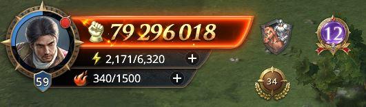 Lord niveau 59 avec 79 296 018 points de prestige